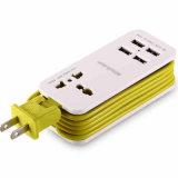 precio de fábrica Universal 4 puertos USB del enchufe de carga de viaje