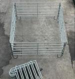 미국 사람 5ftx10FT 강철 목장 둥근 펜 위원회 또는 가축 가축 우리 위원회