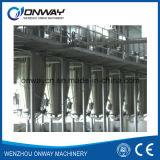 Tubulação erval solvente energy-saving eficiente elevada do Percolator da indústria da máquina da extração do preço de fábrica do preço de fábrica de Tq