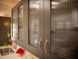vidro de teste padrão de madeira do espaço livre de 2.5-12mm para a parede de divisória de vidro
