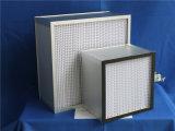 Фильтр Pleat HEPA Um бумаги 0.5 стеклоткани глубокий