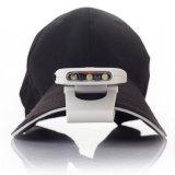 향상 야영 하이킹을%s 모자 모자 Headlamp에 재충전용 적외선 센서 클립