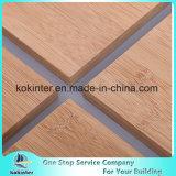 Da estrutura horizontal de bambu da madeira compensada de 10mm placa de bambu carbonizada do bambu do painel