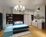 角のソファーが付いている二重壁のベッドを傾ける垂直