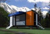 casa do recipiente do bloco liso de construção de aço 20ft' (KXD-CH5)