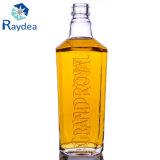 bottiglia di vetro del coperchio a vite rotondo del silice 750ml