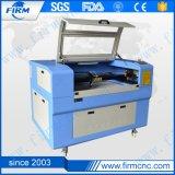 El papel tela acrílico grabado láser de CO2 CNC Máquina de corte/.