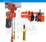 Fabrik-Preis 0.5 Tonnen-Laufkatze-Typ elektrische Kettenhebevorrichtung