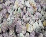 中国自然なカルシウムフッ化物またはCaF2ほたる石または螢石の固まりの/Fluoriteの砂鉱の螢石の粉