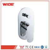 Filigrane moderne et de balance de pression de douche thermostatique robinet Mélangeur de baignoire Salle de bains appuyez sur