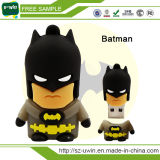Movimentação da pena do USB do superman dos desenhos animados