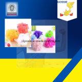 PE Knotless 순수한 만들기 다채로운 목욕 꽃 장갑 기계