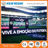Полноцветный светодиодный экран по периметру Sport на футбольном стадионе