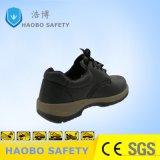 Buen precio directo de fábrica de PU de doble densidad única Puntera cuero genuino Trabajo Industrial impermeable Zapatos de seguridad