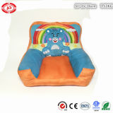 Orange Color Cute Bear Rainbow Coussin en peluche doux