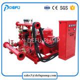 최신 판매 500gpm Nfpa는 디젤 엔진 포장한 화재 펌프를 목록으로 만들었다