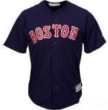 名前をあらゆるNo.カスタマイズした。 チームロゴの人の女性の子供のBoston Red Soxの荘重で涼しい基礎野球のジャージ
