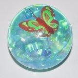 Espaço de cristal Bola de devolução para crianças