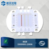 SGS TUV BV Factory Audit 620-630nm 3W LED rouge