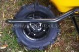 ブラジルの産業頑丈な金属の手押し車Wb7200