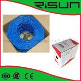 No blindado CAT6 Cable de red con LSZH chaqueta / LSOH PVC