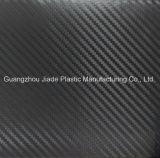 Filme de PVC de cor preta no Design em relevo