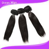 Hot Sale 100 % de l'extension de cheveux humains péruvien Buy Cheap soyeux de Tissage de cheveux humains droites