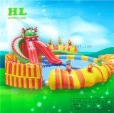 Zwembad van het Stuk speelgoed van het Water van de Dia van het Park van het water het Opblaasbare