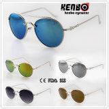 Óculos de sol redondos Km15233 do frame da forma agradável do projeto