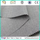 Populäre Verkaufsleinenblick kationische PU-Polyester-Gewebe-Farben-Kombinationen für Sofa-Set