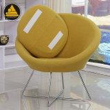 ファブリックデザイナーラウンジアーム椅子