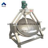 Riscaldamento di vapore di Inox che inclina la caldaia del rivestimento con il prezzo del miscelatore da vendere