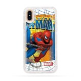 Spiderman Anti-Gravity Teléfono celular de TPU para iPhone x