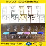 Cadeira acrílica de Chiavari da resina desobstruída transparente do evento de Tiffany do casamento
