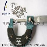 Ck에 의하여 소결되는 알파철 자석 F4*0.9*0.3mm