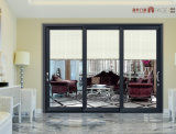 Porte pivotante en aluminium à la mode et porte pivotante