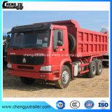6X4 10 de Vrachtwagen van de Stortplaats van Banden HOWO