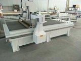 Máquina dobro do router do CNC das cabeças do Woodworking para a mobília da gravura