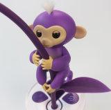 대화식 작은 물고기 원숭이가 전자 지능적인 접촉 핑거에 의하여 장난감 Unicorn 농담을 한다