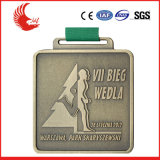Médaille commémorative faite sur commande en métal de médaille de mode promotionnelle