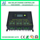 60Солнечный контроллер Auto 12V/24V/36V/48V ШИМ контроллера заряда (QWSR солнечной энергии - LG4860)