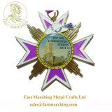 カスタム金属のマレーシアのリボン順序の円形浮彫りのおかしい印刷賞メダル