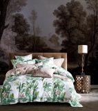 País francês jardim floral colcha edredão impresso cobrir roupa de cama de algodão Definir Lençol
