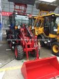 Cs 08 van Zl Lader van het Wiel van de Tractor van de Tuin van China 0.8tons van de Lader de Mini