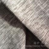 Tissu à la maison de composé de velours de textile avec le traitement de grillage