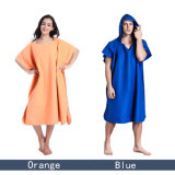 Un super absorbants peignoir Poncho Serviette de plage à capuchon