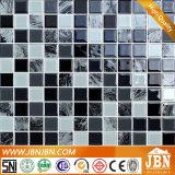 Mano di vetro del mosaico che vernicia in bianco e nero (G423018)