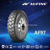 Aufine 상표 경쟁가격에 있는 광선 트럭 타이어 12.00r20