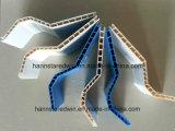 Плитки толя PVC полого индейца структуры напольного Corrugated