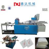 Equipo plegable realzado máquina automática de proceso de papel del tejido de la servilleta